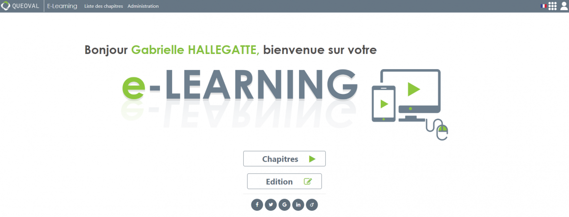 queoval elearling plateforme lms evolutive