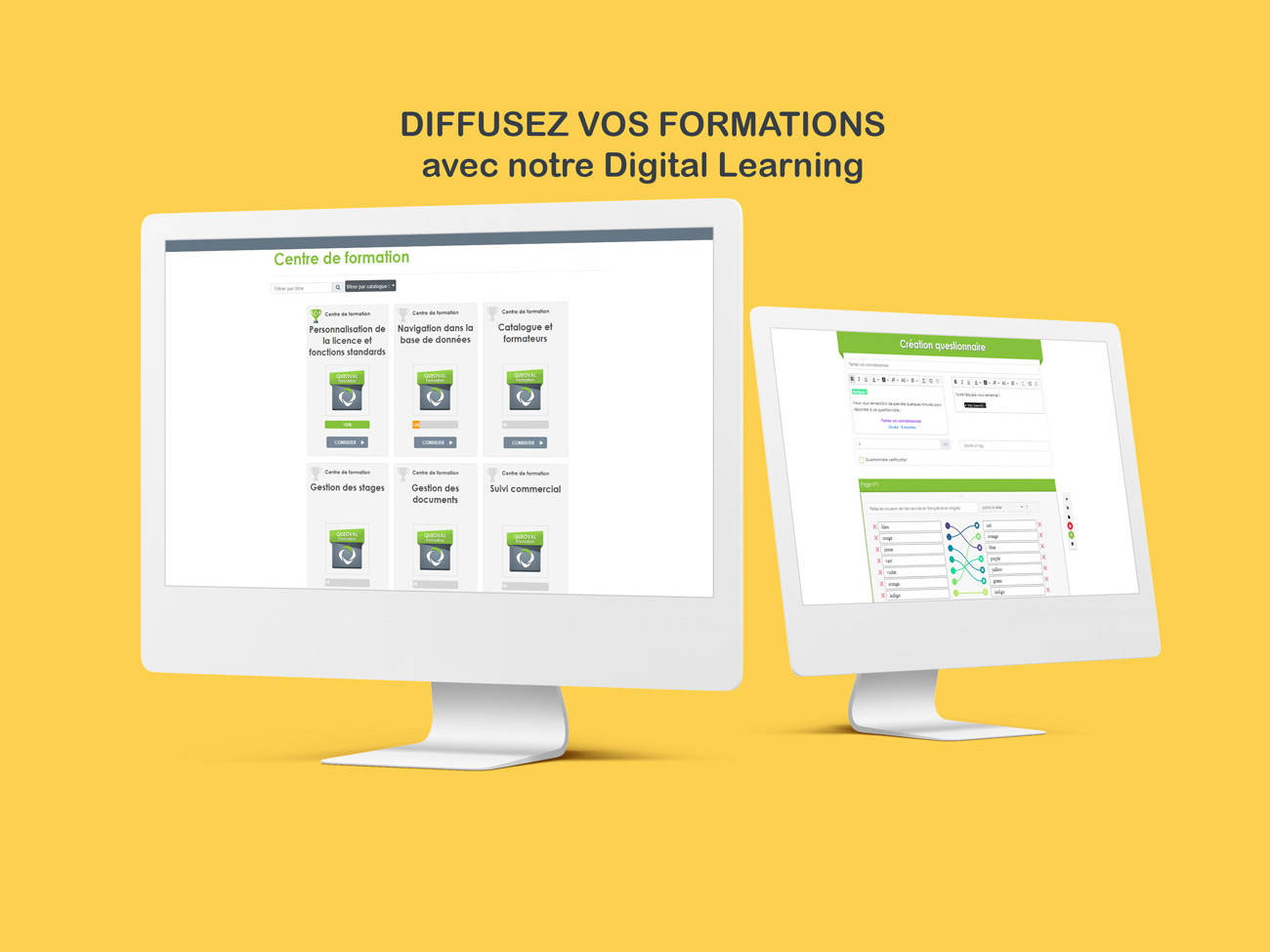 diffusez vos formations avec notre digital learning